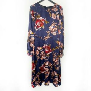 Long Tall Sally Fit and Flare Floral Dress